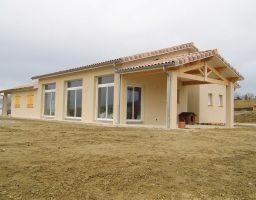Conception réalisation d'une villa T6 de 160m²